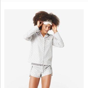 NWT FIGS Poplin Loungewear Pajama Set-Size Medium